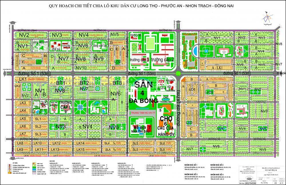 Dự án đất nền HUD Long Thọ, Nhơn Trạch, Đồng Nai